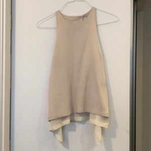 A.L.C. Open back tank top blouse